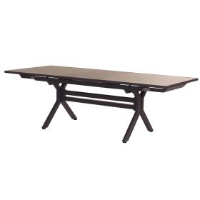 Table extensible plateau plein 180/240 cm Xenah LES JARDINS