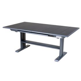 Table Koton extensible 190/285x105 plateau Latté LES JARDINS