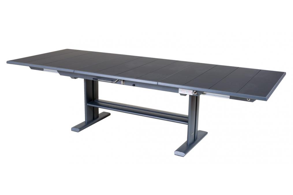Table extensible 190 285x105 plateau latt koton les jardins for Table extensible koton