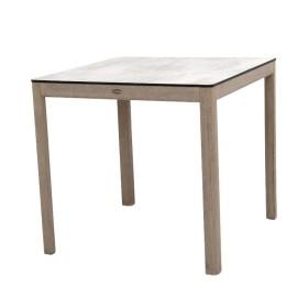 Table bistro 80x80 cm SKAAL / 2 places - Les Jardins