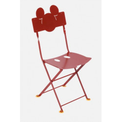 Chaise enfant Bistro Mickey Mouse - A commander par 2 - FERMOB