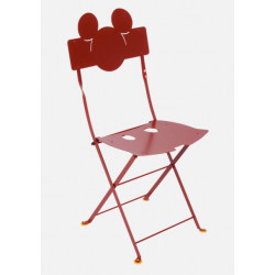 Chaise Bistro Mickey Mouse - A commander par 2 - FERMOB