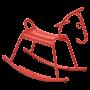 Cheval à bascule Adada Fermob