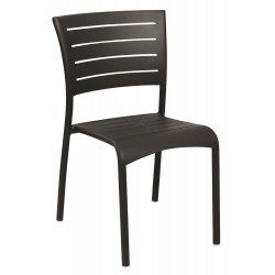 Chaise empilable koton les jardins for Chaise kettler blanche