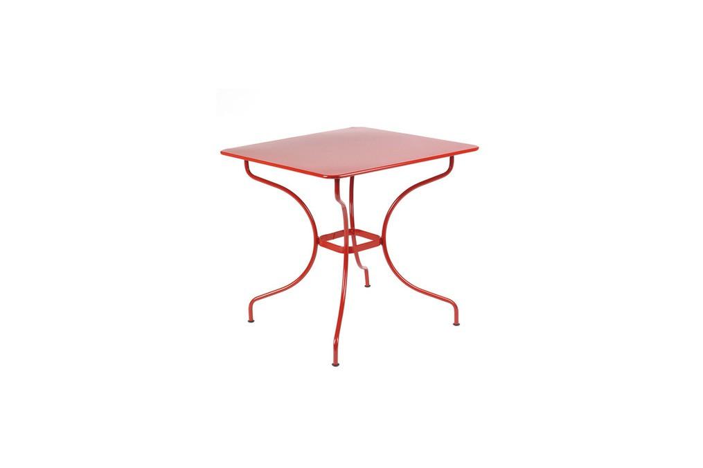 Table carrée Opéra FERMOB - Latour Mobilier de jardin