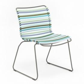 Chaise click Multicolore vert/bleu Houe
