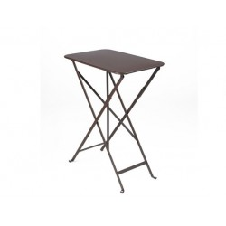 Table Bistro FERMOB Métal 37 x 57 cm Rouille