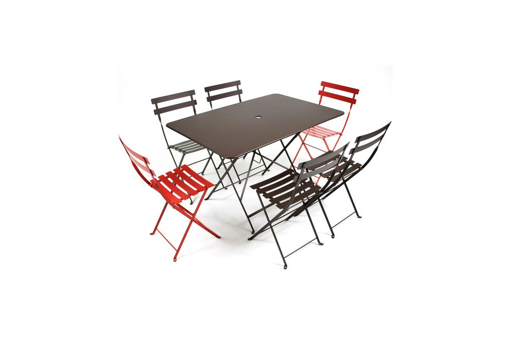 table bistro fermob 117 x 77 table rectangulaire 117 x. Black Bedroom Furniture Sets. Home Design Ideas