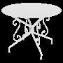 Table Montmartre FERMOB diam 96