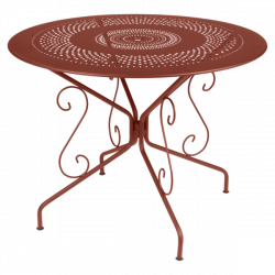 Table Montmartre FERMOB diam 96 cm