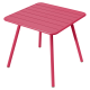 Table Luxembourg FERMOB Métal 80 x 80 cm