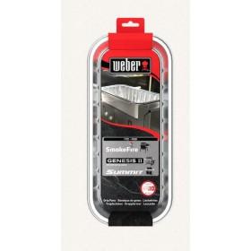 Barquette en aluminium pour Smokefire et Summit Weber