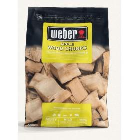 Bois de fumage gros morceaux Pomme 1.5kg Weber