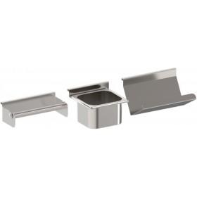 Kit accessoires en inox pour crédence cuisine ENO