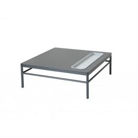 Table Basse Rivage Basalte 85*85 Niche Basalte Vlaemynck