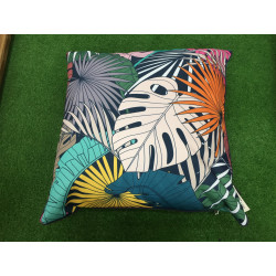 Coussin 45*45 Pool Party Feuilles Tropicales Pôdevache