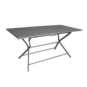 Table Pliante Globe 160*78 Aluminium Grey PROLOISIRS