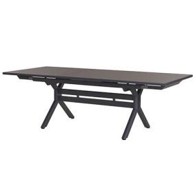 Table Xenah Extensible 180/240x105cm Plateau Plein LES JARDINS