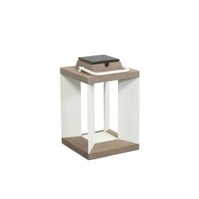 Lampe Solaire Teckalu à LED Alu Blanc Duratek H36 LES JARDINS
