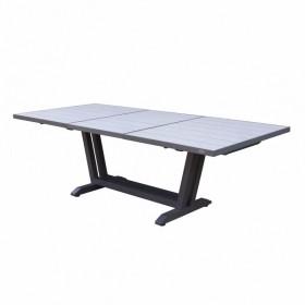 Table AMAKA 200/300x105 cm / 10-12 places - LES JARDINS