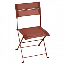 Chaise Latitude FERMOB - Ocre rouge STEREO