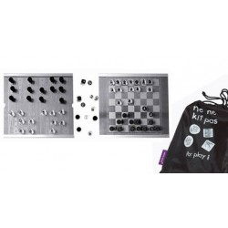 KIT JEU Echecs Backgammon Dames