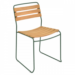 Chaise teck SURPRISING - FERMOB