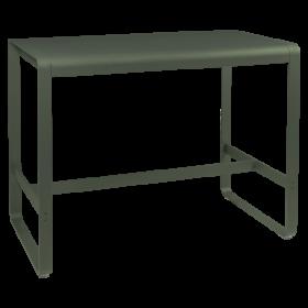 TABLE HAUTE BELLEVIE 140 X 80 CM FERMOB