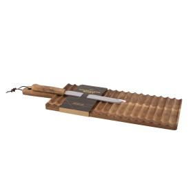 Set planche et couteau à pain en Acacïa - Point Virgule