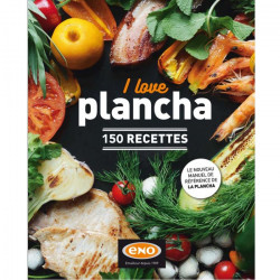 "Livre de recette "" I love plancha"" - ENO"