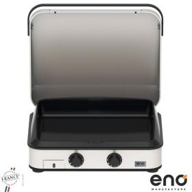 Plancha ENOSIGN 65 Gaz Inox avec couvercle ENO