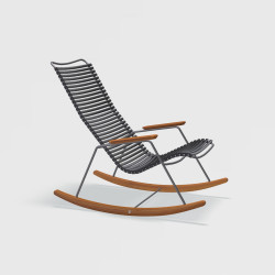 Rocking chair Noir CLICK - HOUE