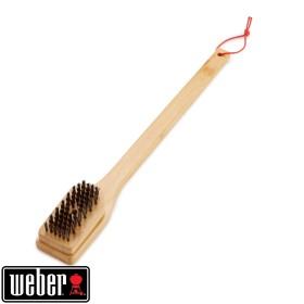 Brosse de nettoyage en bambou pour grille - WEBER