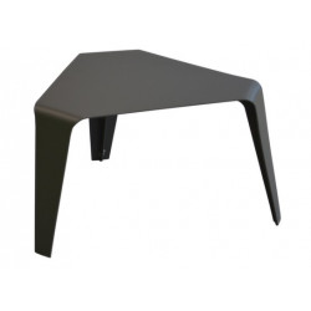Table basse Azur 46x46x46cm / Grise - Océo