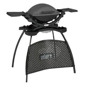 Barbecue électrique Q1400 Dark Grey avec stand Weber