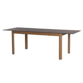 Table Tekura extensible 180/240x95 cm / 6-8 places - LES JARDINS