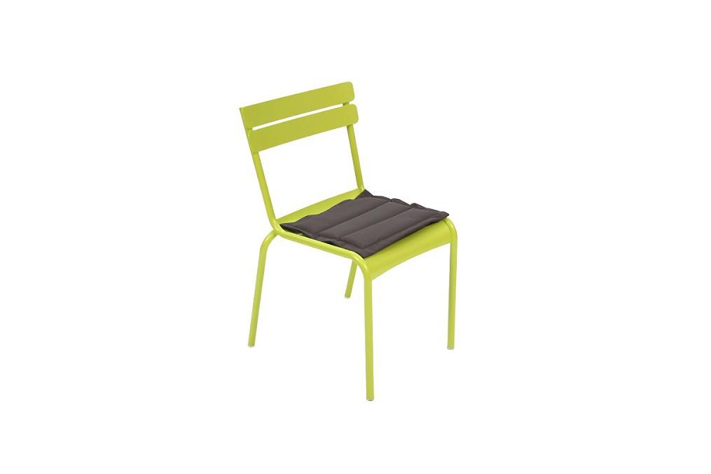 Coussin chaise luxembourg latour mobilier de jardin - Coussins de chaises dehoussables ...