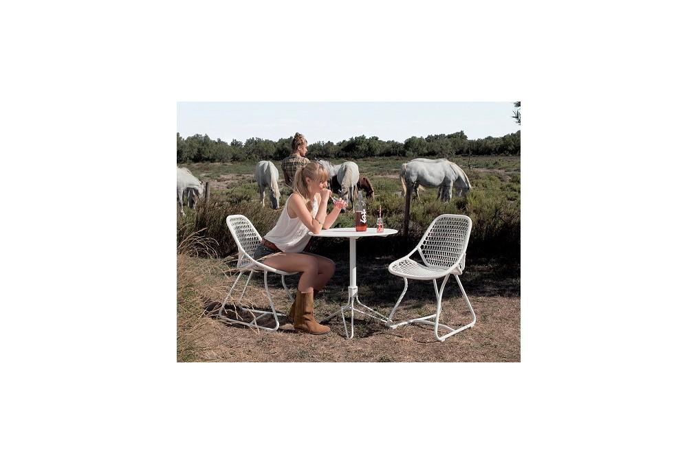 chaise sixties fermob latour mobilier de jardin. Black Bedroom Furniture Sets. Home Design Ideas