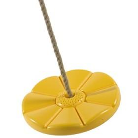Balancoire disque jaune KBT