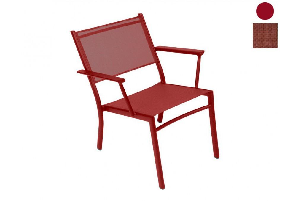 fauteuil bas costa fermob. Black Bedroom Furniture Sets. Home Design Ideas