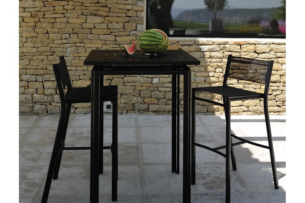 tabouret haut costa fermob. Black Bedroom Furniture Sets. Home Design Ideas