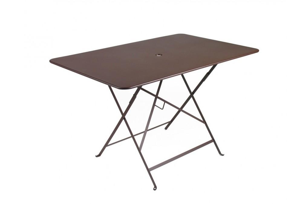 table bistro m tal 117 x 77 cm fermob. Black Bedroom Furniture Sets. Home Design Ideas