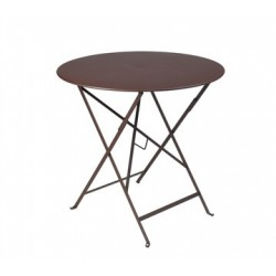Table Bistro FERMOB Métal diam 77 cm