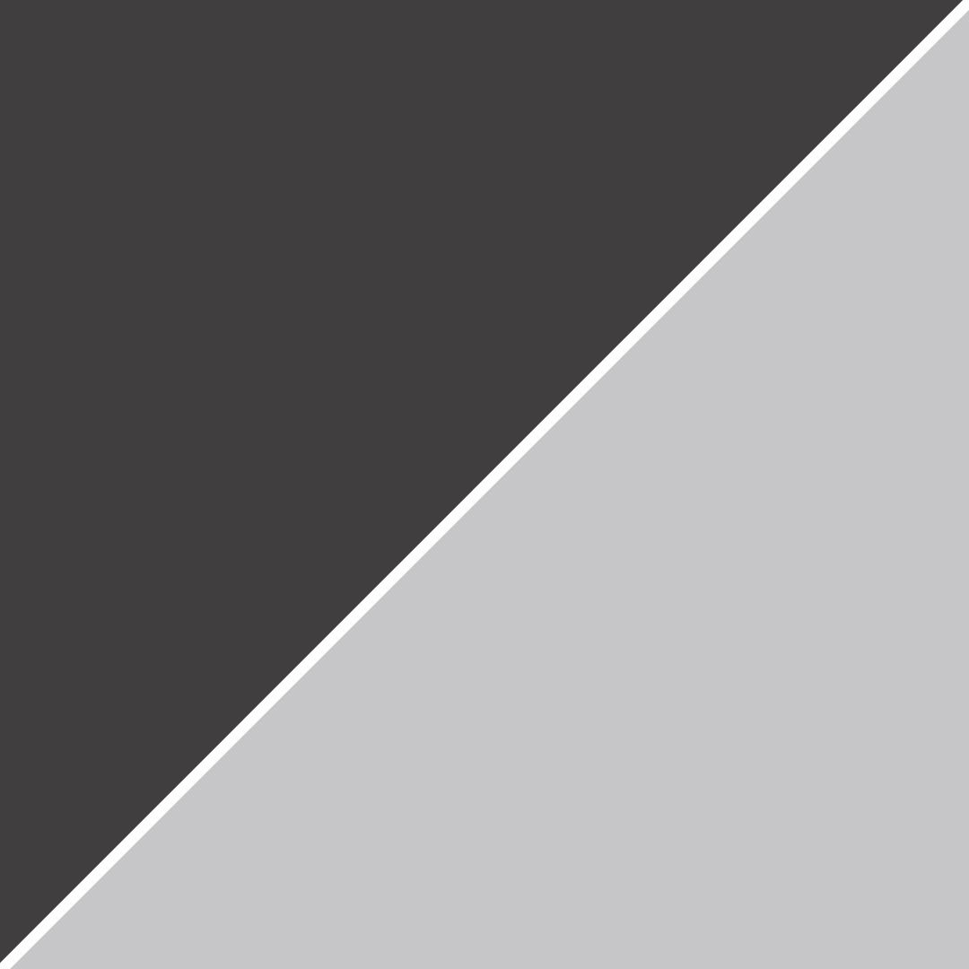 Gris espace/ Blanc chiné